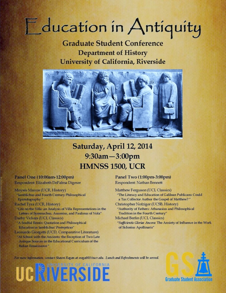 Poster Education in Antiquity GSC