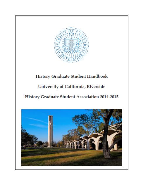 UCR HGSA Handbook